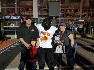 Jared attended Phoenix Suns vs. Los Angeles Lakers - NBA on Nov 13th 2017 via VetTix