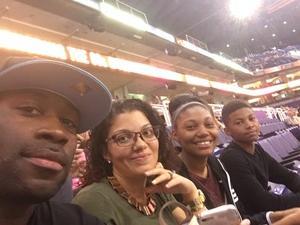 Michael attended Phoenix Suns vs. Los Angeles Lakers - NBA on Nov 13th 2017 via VetTix