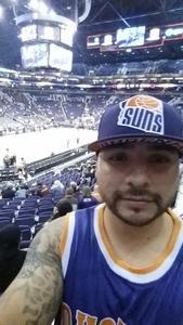 Angel attended Phoenix Suns vs. Los Angeles Lakers - NBA on Nov 13th 2017 via VetTix