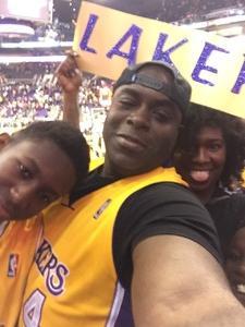 Wesley attended Phoenix Suns vs. Los Angeles Lakers - NBA on Nov 13th 2017 via VetTix