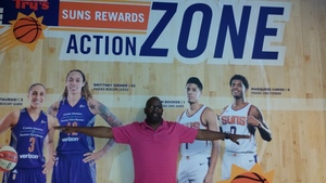 Burnell attended Phoenix Suns vs. Los Angeles Lakers - NBA on Nov 13th 2017 via VetTix