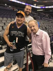 Anthony attended Phoenix Suns vs. Los Angeles Lakers - NBA on Nov 13th 2017 via VetTix