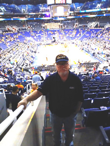 David attended Phoenix Suns vs. Houston Rockets - NBA on Nov 16th 2017 via VetTix