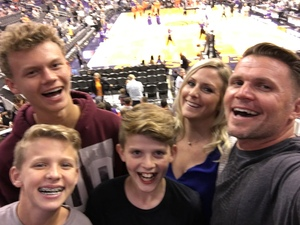 Joshua attended Phoenix Suns vs. Houston Rockets - NBA on Nov 16th 2017 via VetTix