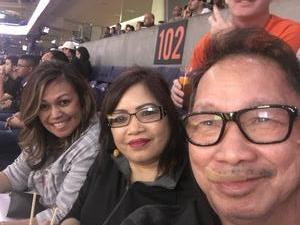 Abilene attended Phoenix Suns vs. Houston Rockets - NBA on Nov 16th 2017 via VetTix