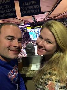 Pawel attended New York Knicks vs. Sacramento Kings - NBA on Nov 11th 2017 via VetTix