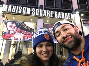 Joseph attended New York Knicks vs. Sacramento Kings - NBA on Nov 11th 2017 via VetTix