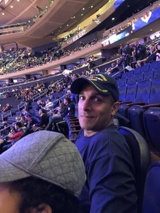 Luis attended New York Knicks vs. Sacramento Kings - NBA on Nov 11th 2017 via VetTix