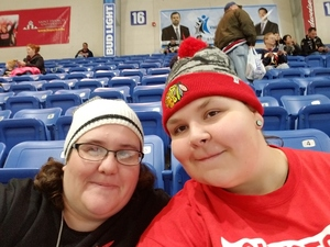 Hope attended Johnstown Tomahawks vs. New Jersey Titans - NAHL on Dec 2nd 2017 via VetTix