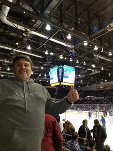 Frank attended Rochester Americans vs. Hartford Wolf Pack - AHL on Dec 1st 2017 via VetTix