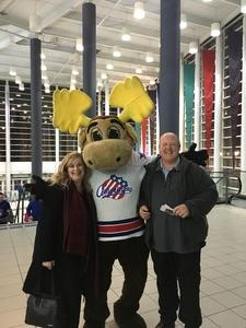 Bruce and Family attended Rochester Americans vs. Hartford Wolf Pack - AHL on Dec 1st 2017 via VetTix