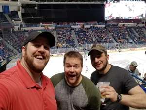 Michael attended Hartford Wolf Pack vs. Binghamton Devils - AHL on Apr 13th 2018 via VetTix