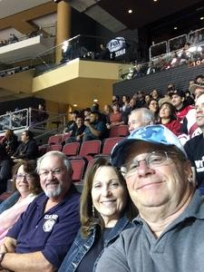 Franklin attended Arizona Coyotes vs. Los Angeles Kings - NHL on Nov 24th 2017 via VetTix