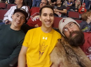 Jacob attended Arizona Coyotes vs. Los Angeles Kings - NHL on Nov 24th 2017 via VetTix