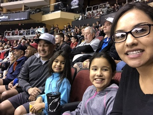 Laura attended Arizona Coyotes vs. Los Angeles Kings - NHL on Nov 24th 2017 via VetTix