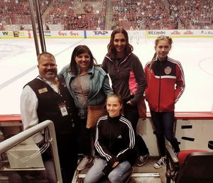 Patrick attended Arizona Coyotes vs. Los Angeles Kings - NHL on Nov 24th 2017 via VetTix