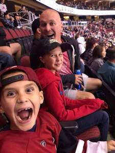 Brad attended Arizona Coyotes vs. Los Angeles Kings - NHL on Nov 24th 2017 via VetTix