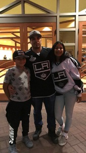 Gerardo attended Arizona Coyotes vs. Los Angeles Kings - NHL on Nov 24th 2017 via VetTix