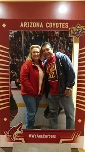 Ted attended Arizona Coyotes vs. Los Angeles Kings - NHL on Nov 24th 2017 via VetTix