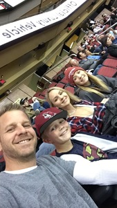 Edgar attended Arizona Coyotes vs. Los Angeles Kings - NHL on Nov 24th 2017 via VetTix