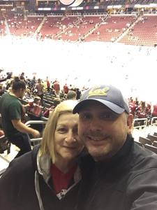 Marco attended Arizona Coyotes vs. Los Angeles Kings - NHL on Nov 24th 2017 via VetTix
