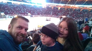 Joshua attended Arizona Coyotes vs. Los Angeles Kings - NHL on Nov 24th 2017 via VetTix