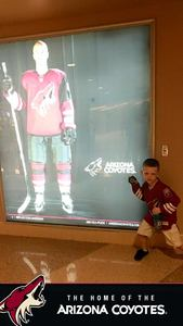 Shawn attended Arizona Coyotes vs. Los Angeles Kings - NHL on Nov 24th 2017 via VetTix