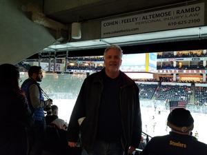 Mark attended Lehigh Valley Phantoms vs. Wilkes-barre/scranton Penguins - AHL - Military Appreciation Night on Dec 6th 2017 via VetTix