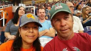 Paul attended Phoenix Suns vs. Milwaukee Bucks on Nov 22nd 2017 via VetTix