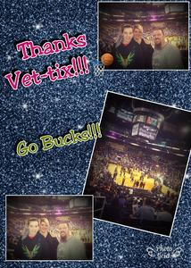 Ryan attended Phoenix Suns vs. Milwaukee Bucks on Nov 22nd 2017 via VetTix