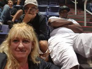 Jacqueline attended Phoenix Suns vs. Milwaukee Bucks on Nov 22nd 2017 via VetTix