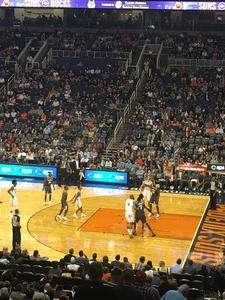 Oscar attended Phoenix Suns vs. Milwaukee Bucks on Nov 22nd 2017 via VetTix