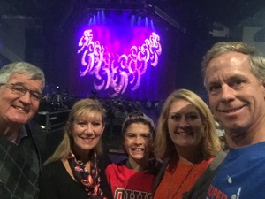 Angela attended Trans-siberian Orchestra - Winter Tour 2017: the Ghosts of Christmas Eve on Nov 19th 2017 via VetTix