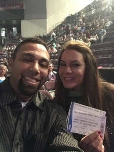 James attended Trans-siberian Orchestra - Winter Tour 2017: the Ghosts of Christmas Eve on Nov 19th 2017 via VetTix