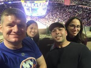 Benjamin attended New York Knicks vs. LA Clippers - NBA on Nov 20th 2017 via VetTix