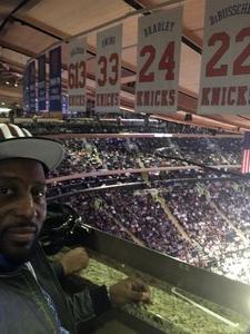 Steeve attended New York Knicks vs. LA Clippers - NBA on Nov 20th 2017 via VetTix