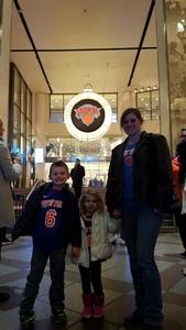 Barrett attended New York Knicks vs. LA Clippers - NBA on Nov 20th 2017 via VetTix