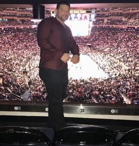 Charles attended New York Knicks vs. LA Clippers - NBA on Nov 20th 2017 via VetTix