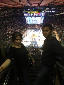 Robin (Hermant) attended New York Knicks vs. LA Clippers - NBA on Nov 20th 2017 via VetTix
