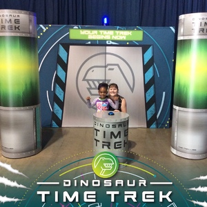 Christin attended Dinosaur Time Trek - Presented by Vstar Entertainment on Dec 3rd 2017 via VetTix