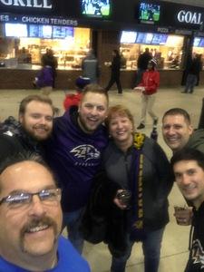 James Rucci Sr. attended Baltimore Ravens vs. Houston Texans - NFL - Monday Night Football on Nov 27th 2017 via VetTix