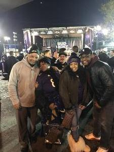 Gary attended Baltimore Ravens vs. Houston Texans - NFL - Monday Night Football on Nov 27th 2017 via VetTix