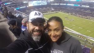 William attended Baltimore Ravens vs. Houston Texans - NFL - Monday Night Football on Nov 27th 2017 via VetTix