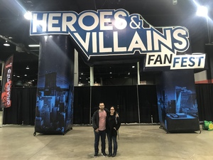Andrew attended Heroes and Villains Fan Fest on Apr 7th 2018 via VetTix