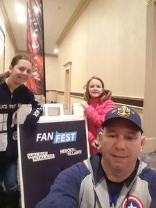 Vincent attended Heroes and Villains Fan Fest on Apr 7th 2018 via VetTix