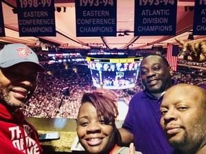 Nakia attended New York Knicks vs. Miami Heat - NBA on Nov 29th 2017 via VetTix