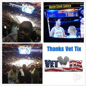 Shelvy attended New York Knicks vs. Miami Heat - NBA on Nov 29th 2017 via VetTix