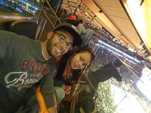 Ant attended New York Knicks vs. Miami Heat - NBA on Nov 29th 2017 via VetTix