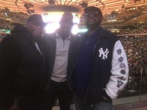 aggrey attended New York Knicks vs. Miami Heat - NBA on Nov 29th 2017 via VetTix