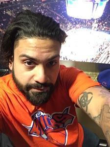 Jimmy attended New York Knicks vs. Miami Heat - NBA on Nov 29th 2017 via VetTix